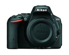 Nikon D5500 Black DX-format Digital SLR Camera Body - US Model
