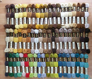 Image Is Loading Dmc Tapestry Wool Shades 7467 To 7598 One