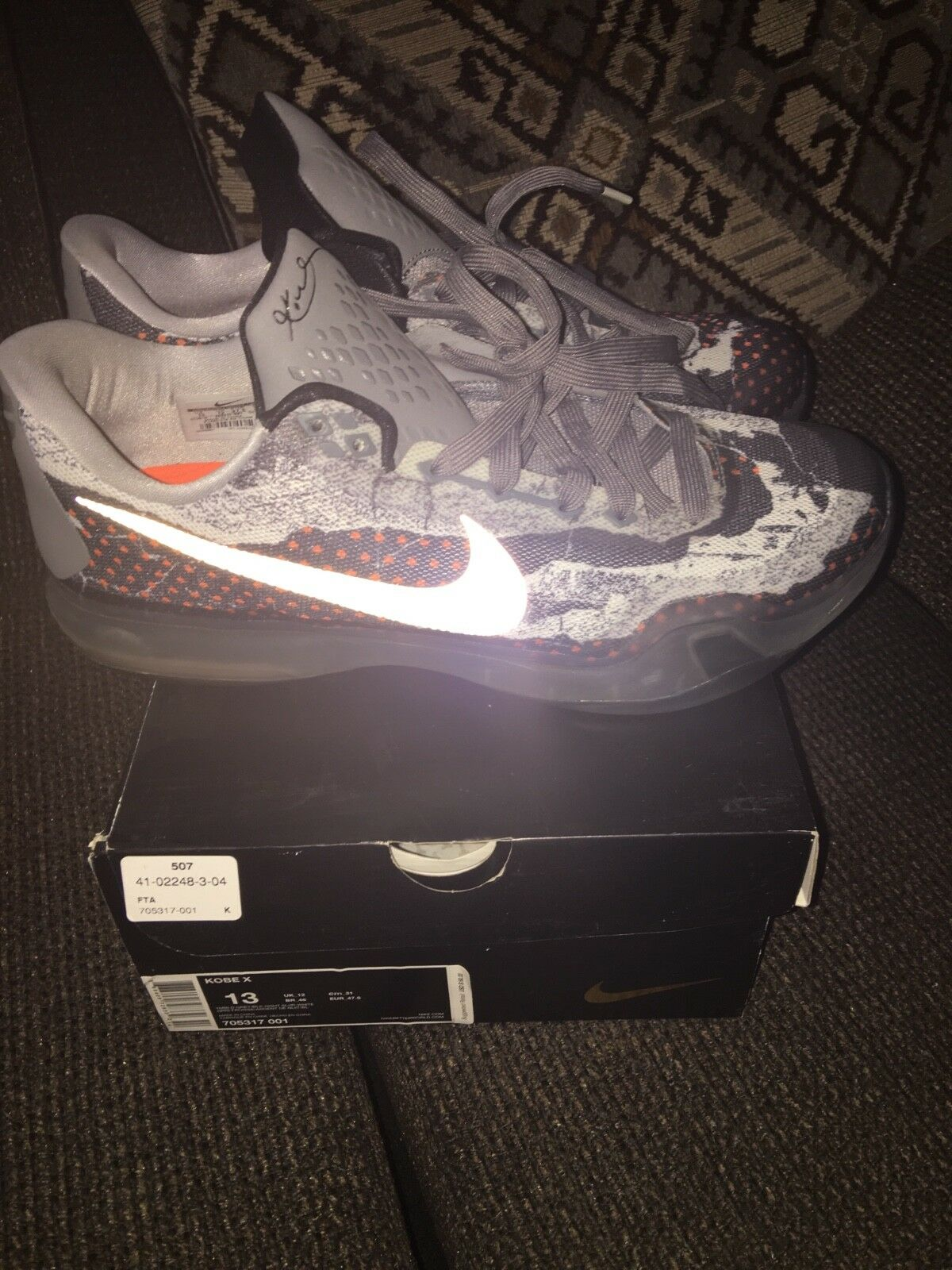 Kobe X size 13 pre-owned