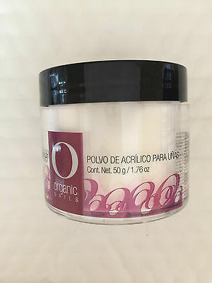 Organic Nail Products Acrilíco Solidos Ultra White  50g