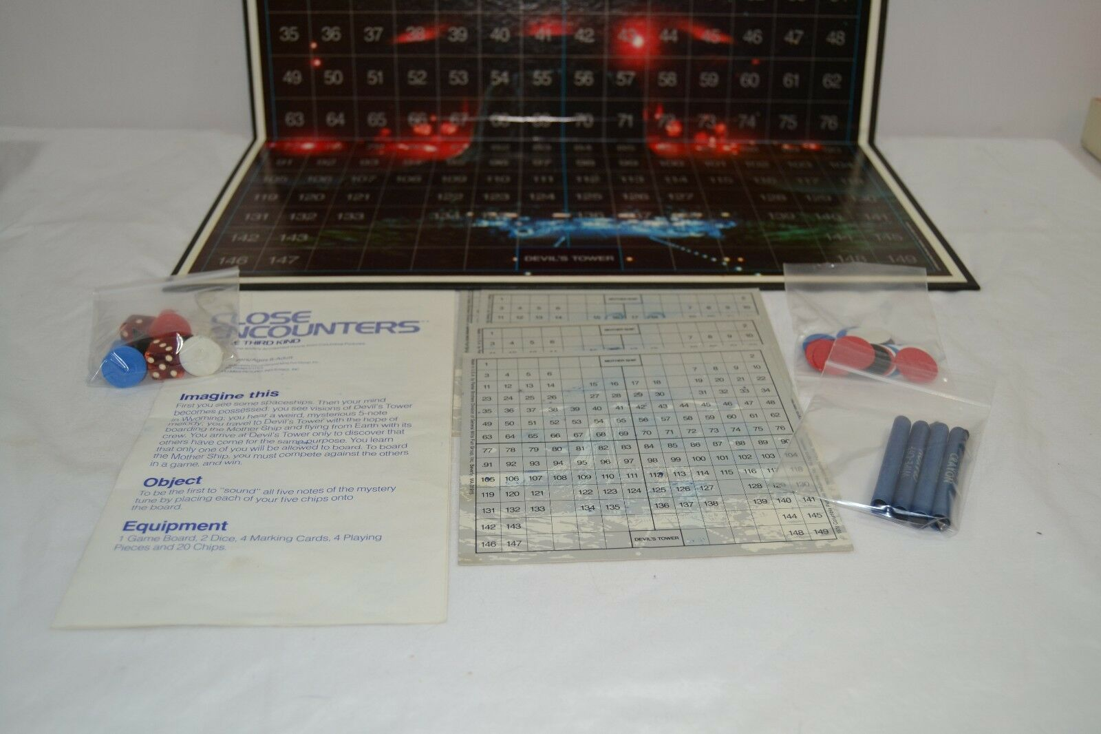 Close Encounters of of of the Third Kind Board Game 1978 Vtg Complete USA Parker Bros 7aa40d