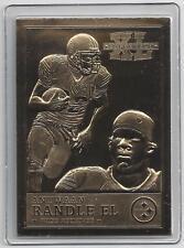 Antwaan Randle El Danbury Mint 2006 Steelers Super Bowl XL 22kt Gold NFL Card