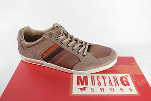 MUSTANG-hommes-Chaussures-a-lacets-marron