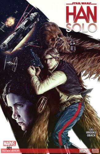 1st print Marvel Comics Modern Reboot Star Wars Han Solo Mini-series #1