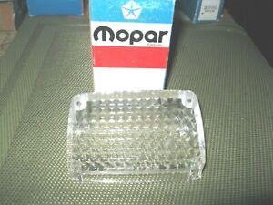 NOS Mopar 1970 -1973 Plymouth Valiant right Backup Lens , 4 door