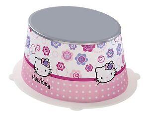 Hello kitty kids step stool plastic bathroom childrens toilet
