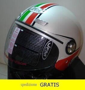 CASCO-JET-VISIERA-BANDIERA-ITALIA-ITALIANA-MOTO-SCOOTER