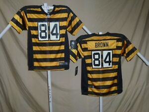 competitive price c05df 1732b Details about ANTONIO BROWN Pittsburgh Steelers NIKE Game THROWBACK JERSEY  Youth XL NWT $75
