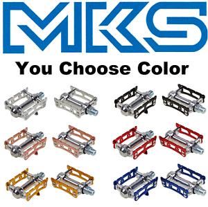 Choose Color MKS Sylvan Track Pedals Japanese Road Fixed Gear Track Bike Vintage
