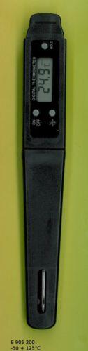 elektronisches Thermometer 50+300°C Digital Thermometer Einstichthermometer