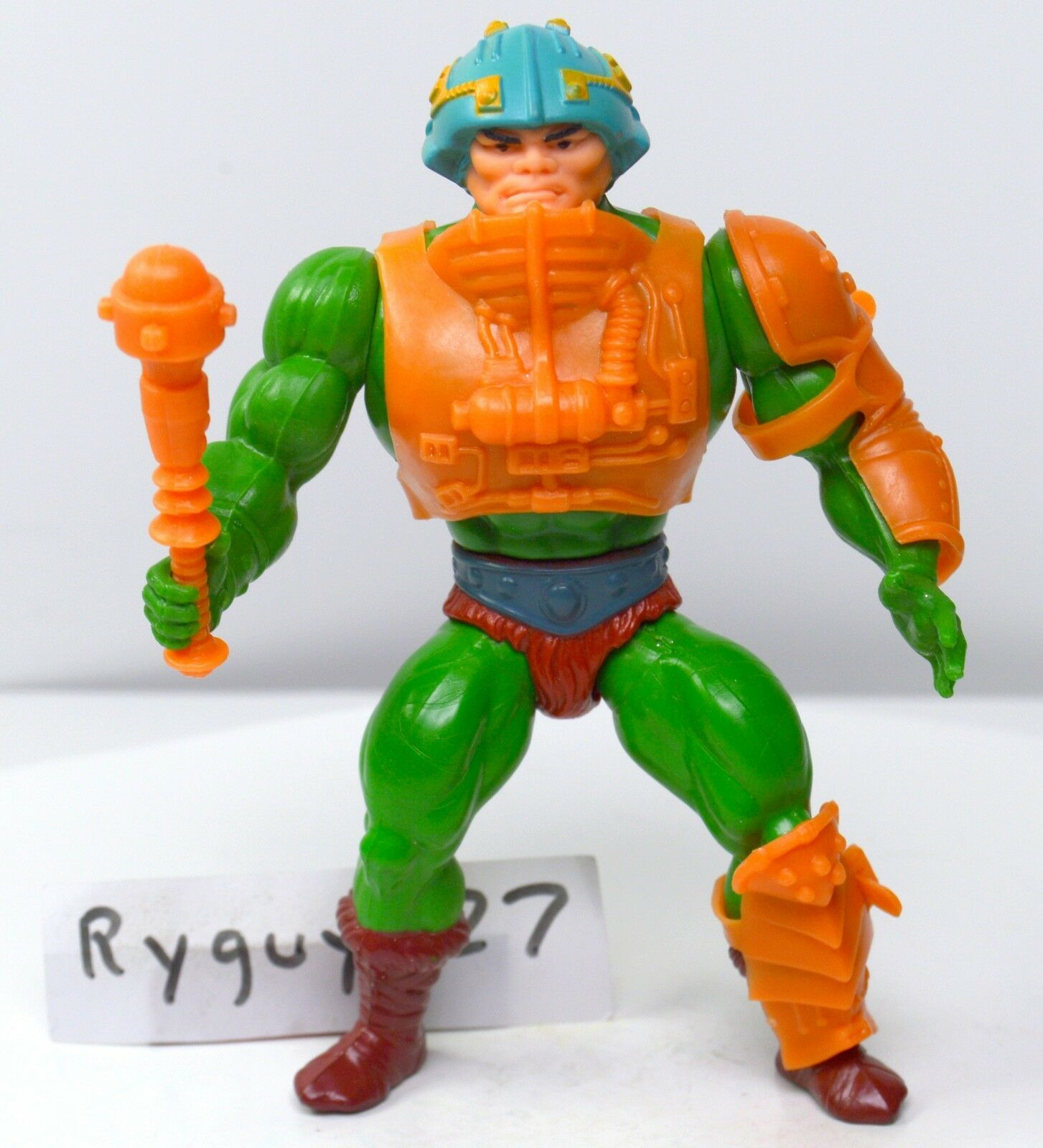 MOTU, Man-At-Arms, Masters of the Universe, vintage, complete, He-Man, Figura