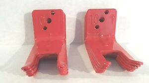 Lot of 2 Wall Bracket for 5 to 10lbs Fire Extinguisher