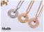 Collar-Colgante-Joya-Mujer-Novia-Gold-Accesorio-Regalo-Cumpleanos-Pareja-Novia miniatura 5