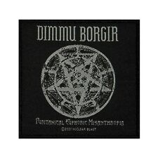 """Dimmu Borgir Puritanical Euphoric Misanthropia"" Metal Sew On Applique Patch"