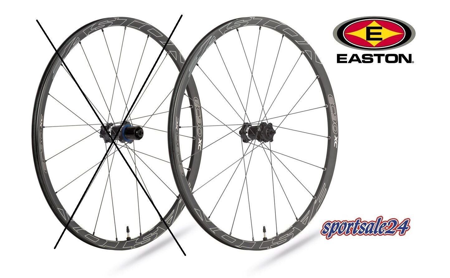 EASTON EC90 XC Karbon Vorderrad 26  9x100 NEU SONDERPREIS UVP