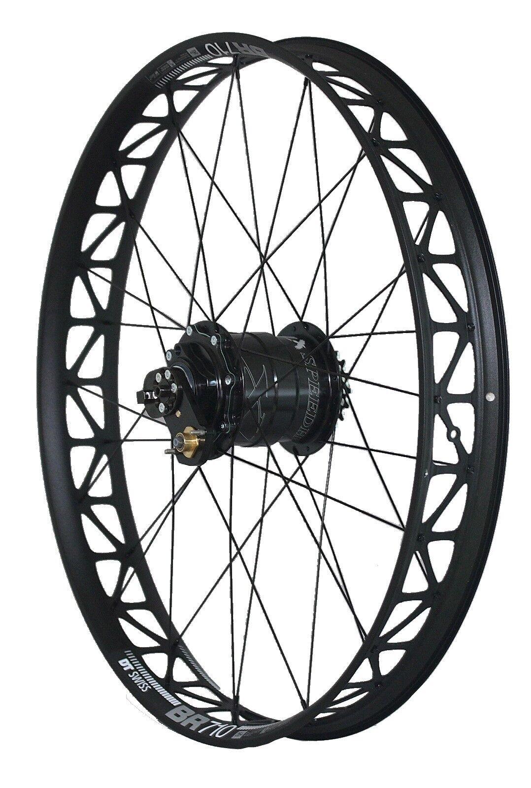 Grand Vélo Roue Arrière Rohloff 8027 XL Dimension Intégrée 170mm Dt-Swiss Jante