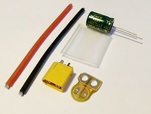Utile Lc Filtre Module Kit Avec 2200uf Et Amass Xt60 Connecteur-afficher Le Titre D'origine Des Biens De Chaque Description Sont Disponibles