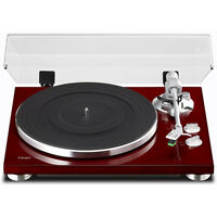 Teac TN-300 2-Speed Analog Turntable (Cherry)