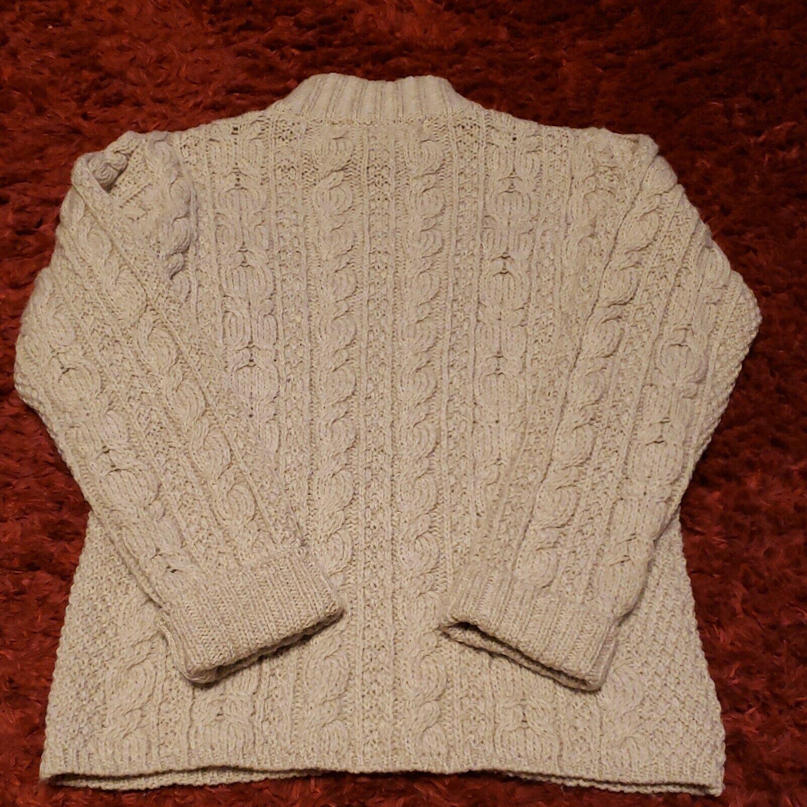 INIS CRAFTS Ireland Womens Small 100% Merino Wool… - image 5