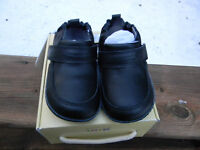 Robeez Stride Rite Robby Black Dress Baby Boy Sz 2 3-6 Mo. Formal Crib Shoe