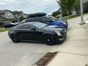 CTS Coupe black on black all options