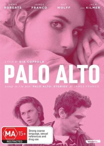 1 of 1 - Palo Alto (Dvd) Drama, Emma Roberts, James Franco, Jack Kilmer