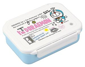"DORAEMON ""I'M DORAEMON"" LUNCH BOX LARGE 800ML DISHWASHER SAFE - MADE IN JAPAN"