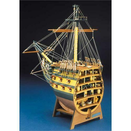 Mantua Panart HMS Victory Bow Section Wooden Ship Kit 1 78 Scale 746