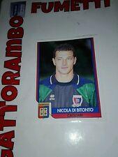 Figurine Tutto Calcio n.36 Di Bitonto Cagliari con velina - Anno 1993-94