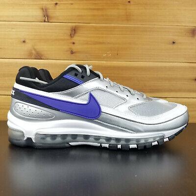 Nike Air Max 97BW Men's Shoes AO2406 002 Metallic Silver Persian Violet | eBay