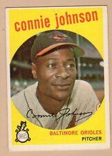 1959 TOPPS BB #21 CONNIE JOHNSON/ORIOLES EX