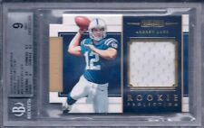 ANDREW LUCK 2012 PANINI PROMINENCE ROOKIE PROJECTION MATERIALS 143/299 324 BGS 9