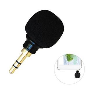 Mini-Stereo-Mikrofon-3-5mm-Mic-Fuer-Laptop-Notebook-Handy-Neu