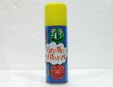CARNEVALE, ALLOWEEN-STELLE FILANTI SPRAY-GIALLO-ML 125
