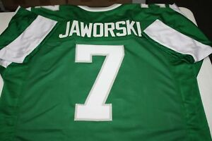 size 40 46332 810d0 Details about RON JAWORSKI #7 SEWN STITCHED HOME THROWBACK JERSEY SIZE XL  ALL PRO QB SB XV