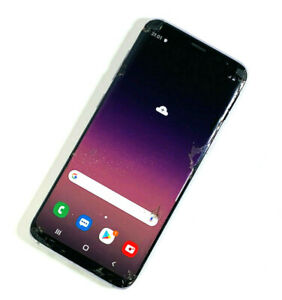 Samsung-Galaxy-s8-sm-g950f-64gb-grau-Entsperrt-SIM-Frei-zertruemmerte-Bildschirm-funktioniert-380