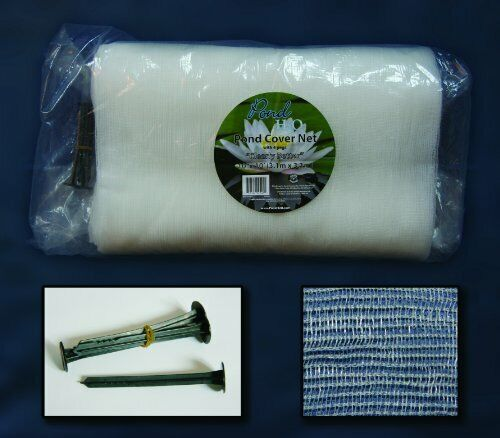 PondH2o Clearly Better Water Garden Pond Cover Netting (Clear), Size 20ftx33 ft.