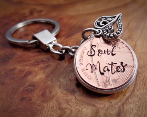 7th Anniversaire De Mariage 2012 personnalisé Lucky Penny cadeau pour son cadeau pour lui
