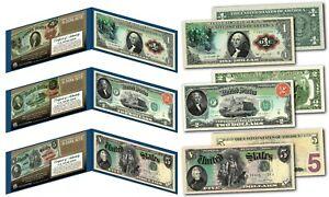 1869 George Washington Rainbow One-Dollar Banknote designed on modern $1 bill