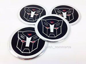 AUTOBOTS-Aufkleber-60mm-Satz-4-Felgen-Sticker-Nabenkappen-Felgendeckel-Emblem
