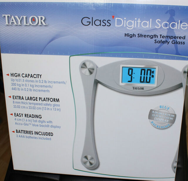 Taylor Gl Digital Scale 7516cuk High Quality For Extra Large Platform