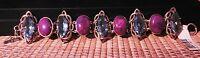 Nicky Butler Raj Aqua Quartz & Purple Turq Bracelet Ret: $599.95
