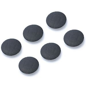 6x-Analog-Joystick-Stick-Replacement-Cap-Cover-Button-For-Sony-PSP-1000-Black-UK