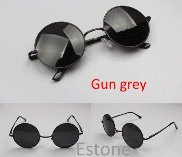 Retro Round Frame Lens Sunglasses Eyeglasses Glasses New Vintage Tortoise