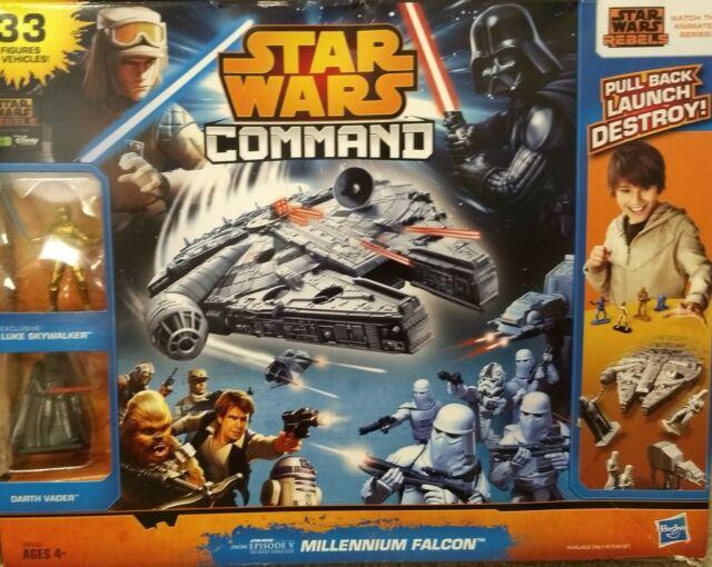 Hasbro Star Wars Command Millennium Falcon 33 figurines et véhicules