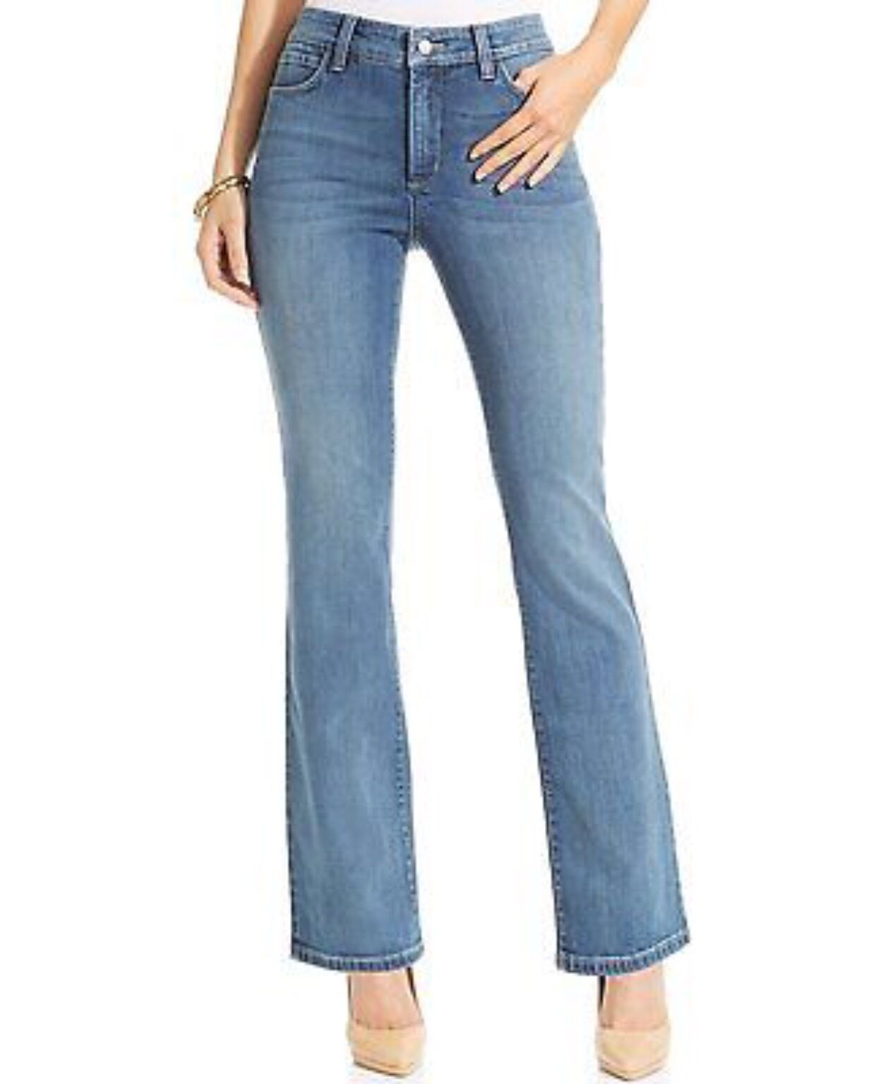 BRAND NEW NYDJ BARBARA BOOTCUT JEANS SIZE COLOUR REDMOND WASH RRP