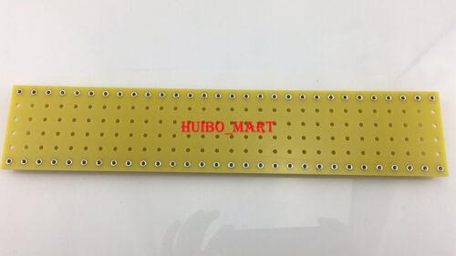 Amarillo 1x 300*60*2mm Amplificador de guitarra de cobre Torreta Tag Board tira Board