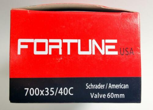 700x35//40c Fortune Bycicle Tube Shrader American Valve 60mm 700c 35 40mm 29x1.3