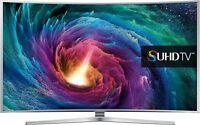 Samsung UE55JS9000 140 cm (55 Zoll) S-UHD 2160p 3D 4K LED Ultra HD Cine SmartTV
