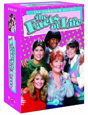 The Facts Of Life . The Complete Series . Season 1 2 3 4 5 6 7 8 9 . 27 DVD NEU